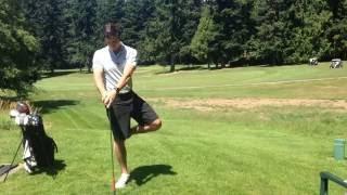 Quick Golf Warmup 4/7