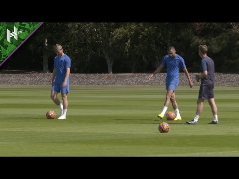 Werner & Ziyech train as Chelsea prepare for Bayern Munich | Bayern v Chelsea | Champions League