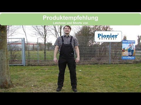Produktempfehlung | Pionier Workwear Latzhose & Shorts | Fehlig GmbH