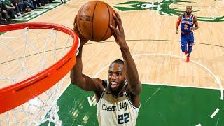 All-Access: Bucks Crush Knicks By 44 Points   Khris Middleton Dunks!   Giannis Tunnel Cam   12.2.19