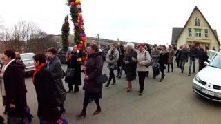 Parada Palm Wielkanocnych w Króliku Polskim
