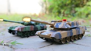 EPIC WAR! Toys Tank Battle Vs Soldiers Military Airplane