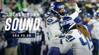 Griffin Brothers Share Sack On Aaron Rodgers  | Locker Room Sound
