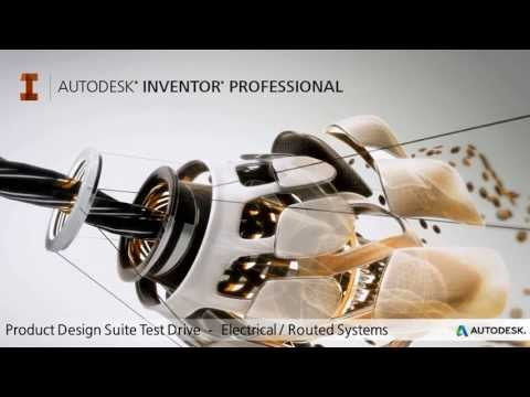 Product Design Suite Test Drive -- Electrical Design (Inventor Professional / AutoCAD Electrical)