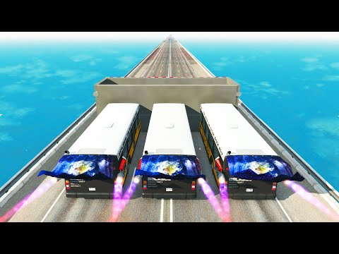 BUS RIOT #5 BeamNG Drive CrashTherapy