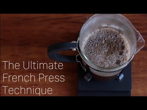 The Ultimate French Press Technique