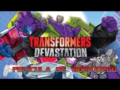 Transformers Devastation Pelicula Completa Español - Full Movie - Game Movie 2016
