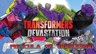 Transformers Devastation Pelicula Completa Español  Full Movie  Game Movie 2016