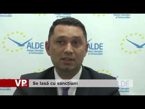 Se lasă cu sancțiuni