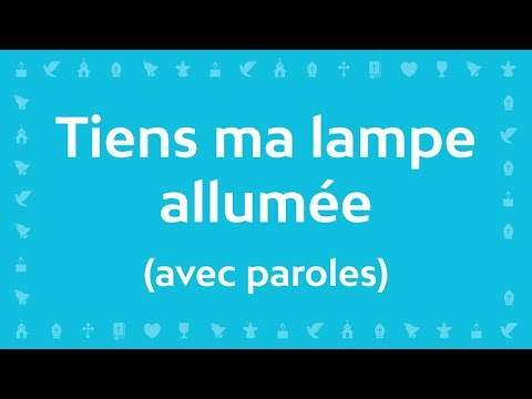 Jean-Claude Gianadda - Tiens ma lampe allumée | Chant Catholique avec paroles