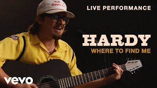"HARDY   ""Where To Find Me"" Live Performance 