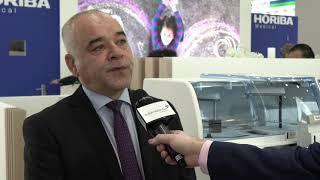 Domingo Dominguez from Horiba speaking to Medlab TV 2020