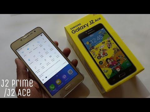 Samsung Galaxy J2 Ace Unboxing