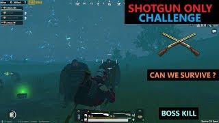 [Hindi] PUBG Mobile   Amazing Shotgun Only Challenge In Zombie Mod