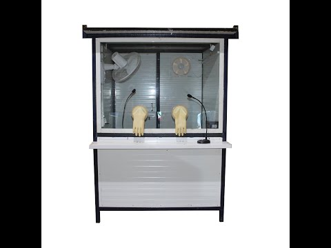 PUF Panel Covid Testing Booth