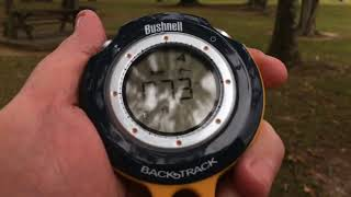 How to use the Bushnell Backtrack - an eBay demo