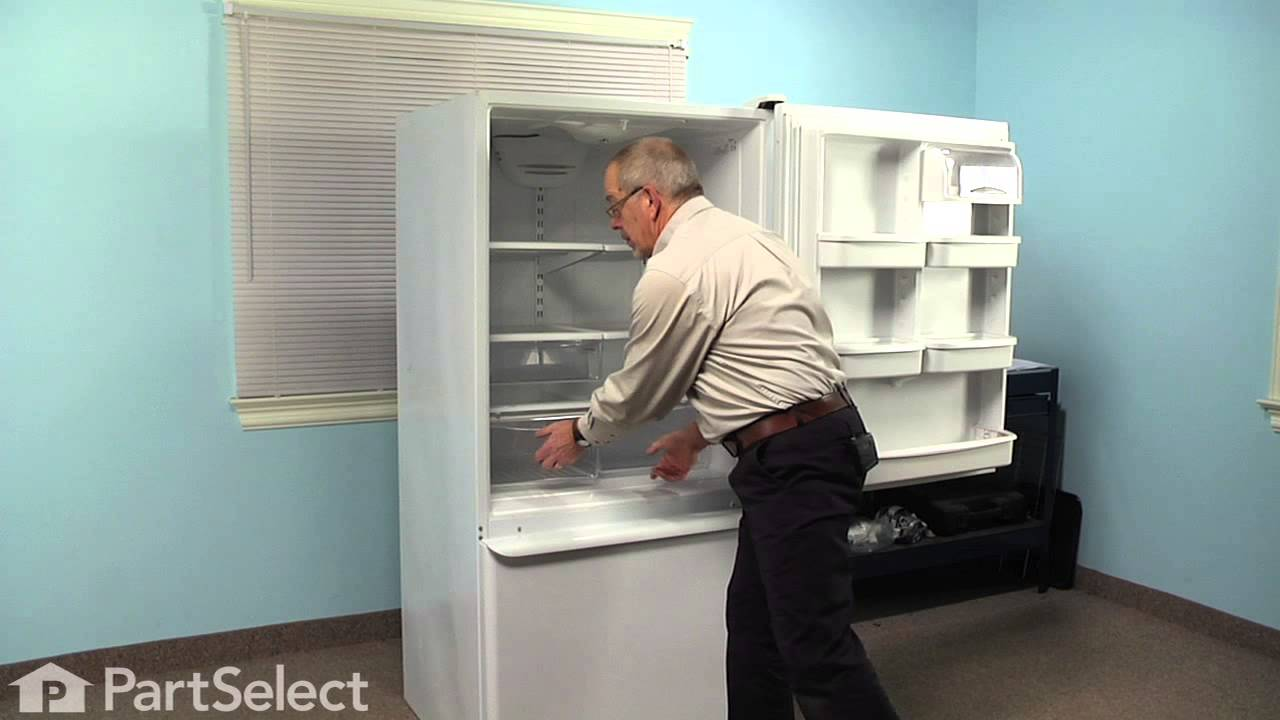 Replacing your Maytag Refrigerator Crisper Pan