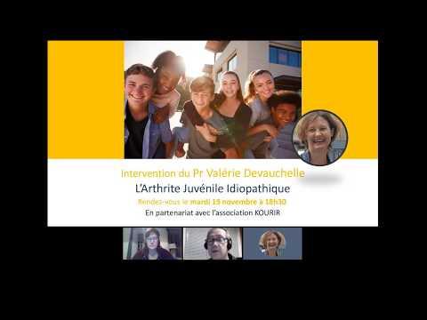 """Webconférence #19 """"L'Arthrite Juvénile Idiopathique"""" par le Pr Devauchelle"""