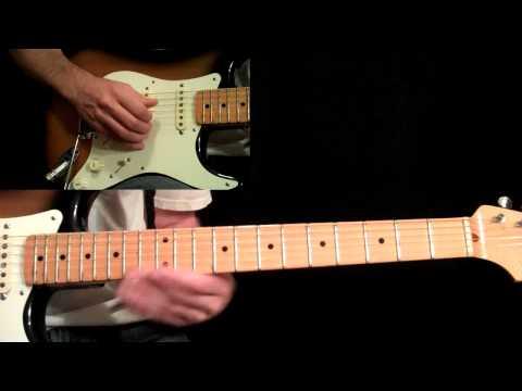 Manhattan Guitar Lesson Pt.5 - Eric Johnson - Main Solo (Second Half)