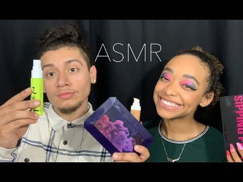 ASMR | MY BOYFRIEND DOES MY MAKEUP