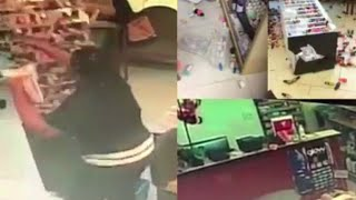 Angry customer's rampage inside nail salon caught on camera, goes viral