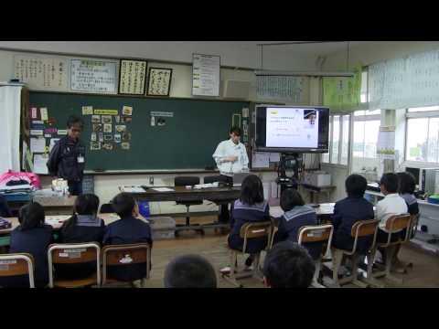 種子島の学校活動:安納小学校移動宇宙教室「宇宙食」