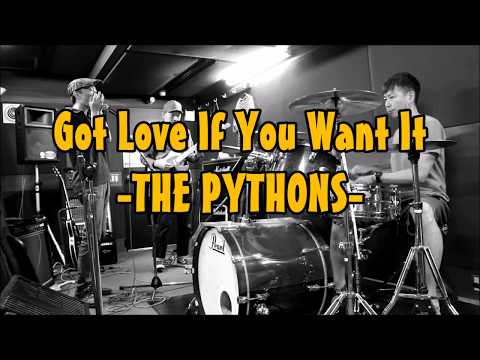"""THE PYTHONS - Got Love If You Want It """"Studio Session 17/9/2017"""""""