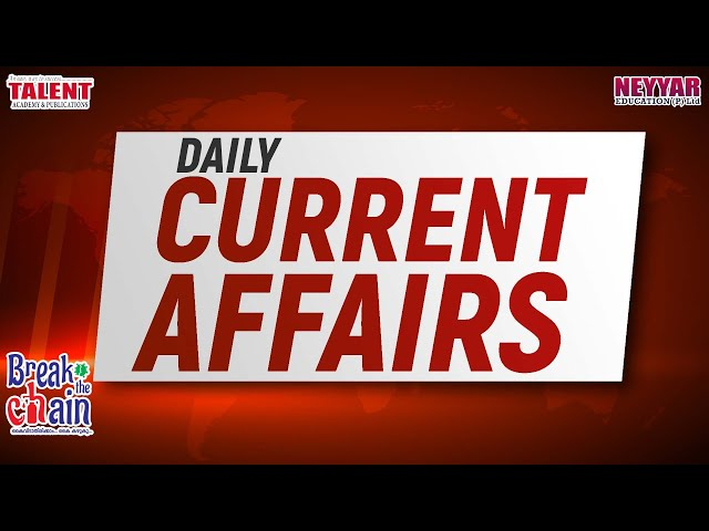 Daily current Affairs 02 April