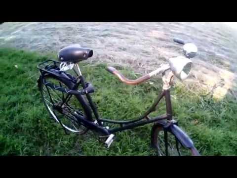 Bicicleta holandesa o inglesa