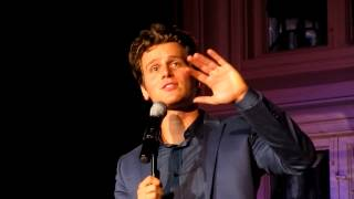 "Jonathan Groff Singing ""The Lonely Goatherd"" from The Sound of Music Live at The Cabaret"