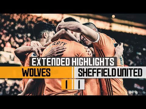 Nine games unbeaten! Wolves 1-1 Sheffield United   Extended Highlights