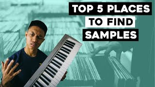 The BEST 5 places to find SAMPLES for your beats