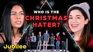 6 Christmas Lovers vs 1 Secret Scrooge