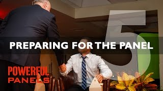 How to Moderate a Panel Discussion: Preparing for the Panel (Video #5, 12mins)