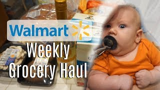 Weekly Walmart Grocery Haul!! | Walmart Grocery Delivery Service