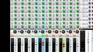 FX Sends / Returns - SSL Mixer Video Series - Reason - LearnReason.com