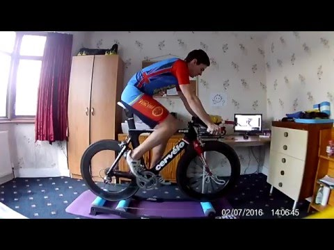 Training with Tacx T1000 Antares Roller Trainer
