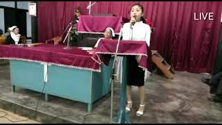 Justine Ngursailovi Sanate   Heiraw Hei Ha   LIVE At Methodist Church Hmarkhawlien 2018