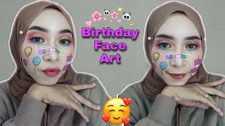 FACE ART BIRTHDAY LOOK