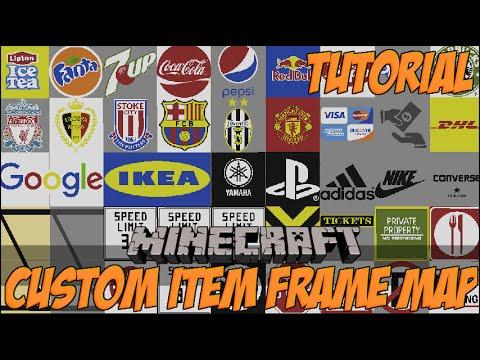 Custom Itemframe Map Repository (Logo's, Brands, Traffic