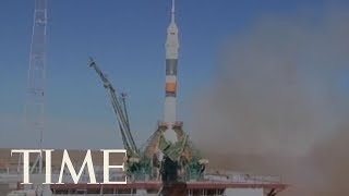 U.S. And Russian Astronauts Are Making An Emergency Landing After A Failed Space Launch | TIME