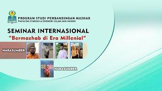 WEBINAR INTERNASIONAL PRODI PERBANDINGAN MAZHAB IAIN AMBON