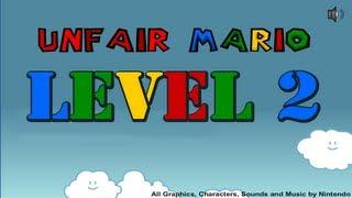 Level 2 - Unfair Mario - Wickedshrapnel