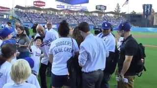 Los Angeles Dodgers Honors Don Newcombe With Jersey Day