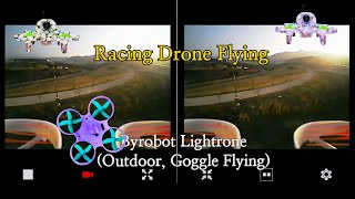 Racing Drone Flying(Outdoor, Goggle Flying)