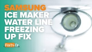 How to Fix an Ice Maker in a Samsung Refrigerator - Самые