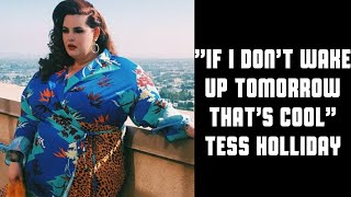 A Cry for Help From Tess Holliday