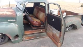 Bagged Rat Rod Chopped 1950 Chevy Pickup Truck Air