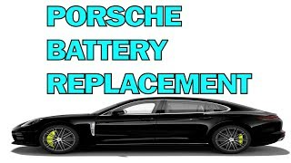 How To Change Your Porsche Battery