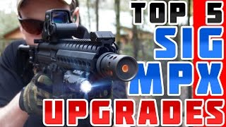 Top 5 Upgrades for the SIG MPX